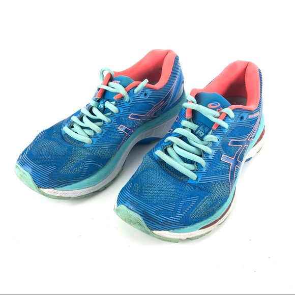 new styles b565a 9d11f Asics Gel Nimbus 19 Running Training Blue Size 7